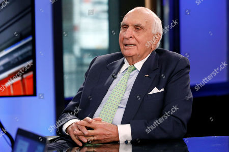"""Ken Langone appears on """"Cavuto: Coast to Coast,"""" with anchor Neil Cavuto, on the Fox Business Network, in New York"""