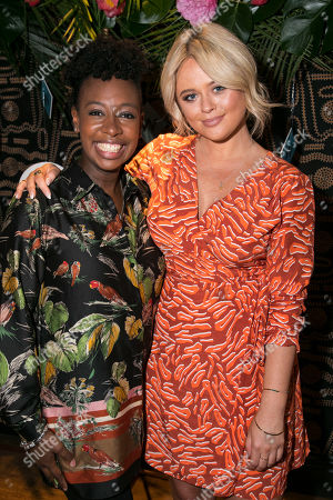 Stock Photo of Yolanda Brown and Emily Atack