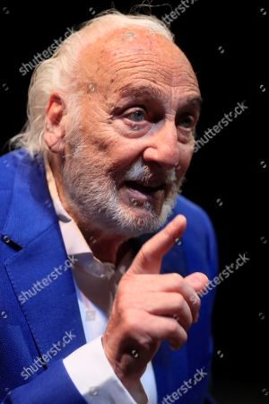 Stock Image of Argentinian actor Hector Alterio poses for the photographers during an interview to Spanish News Agency EFE held in Madrid, Spain, 24 June 2019. Alterio is the director and cast member of 'Como hace 3000 anos' (lit. As 3000 years ago) play and will be released on 25 June 2019 in Madrid.