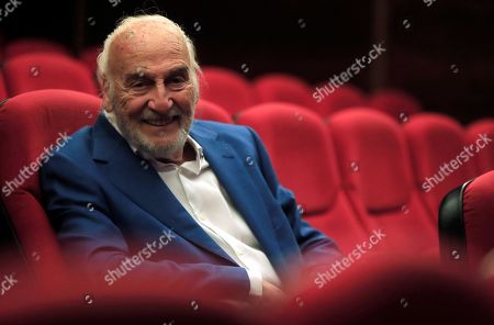 Argentinian actor Hector Alterio poses for the photographers during an interview to Spanish News Agency EFE held in Madrid, Spain, 24 June 2019. Alterio is the director and cast member of 'Como hace 3000 anos' (lit. As 3000 years ago) play and will be released on 25 June 2019 in Madrid.