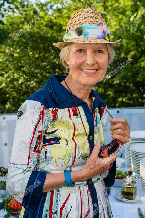 Axel Springer Supervisory Board Vice Chairwoman Friede Springer attends the charity summer party 'Ein Herz fuer Kinder' (A Heart for Children) in Berlin, Germany, 24 June 2019. The organization collected donations for children's charity organizations in Germany and the whole world.