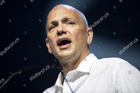 Tony Fadell speaks during the official opening of the Starmus Festival 'Once Upon a Time on the Moon' in Zurich, Switzerland, 24 June 2019. The 2019 Starmus Festival celebrates mankind's first step on the Moon, coinciding with the 50th anniversary of this event in human history.
