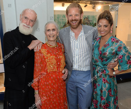 David Gant, Daphne Selfe, Alistair Guy and Katy Wickremesinghe