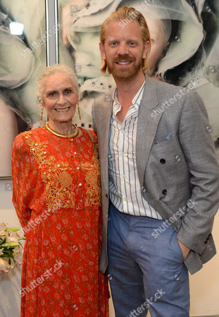 Stock Image of Daphne Selfe and Alistair Guy
