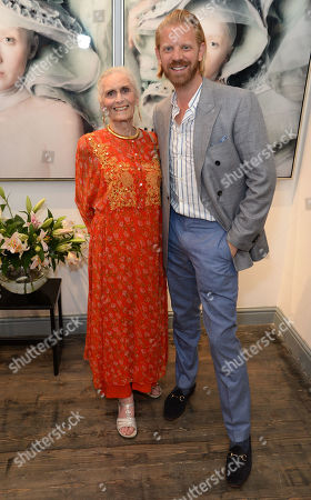 Stock Picture of Daphne Selfe snd Alistair Guy