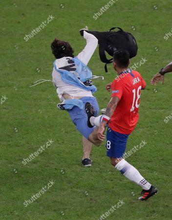 Editorial picture of Soccer Copa America Chile Uruguay, Rio de Janeiro, Brazil - 24 Jun 2019