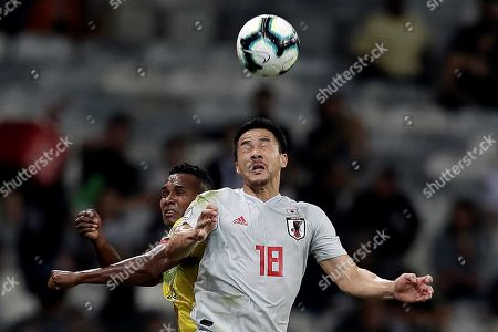 Editorial image of Ecuador vs. Japan, Belo Horizonte, Brazil - 24 Jun 2019