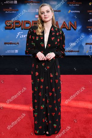 Editorial photo of 'Spider-Man: Far From Home' film premiere, Arrivals, TCL Chinese Theatre, Los Angeles, USA - 26 Jun 2019