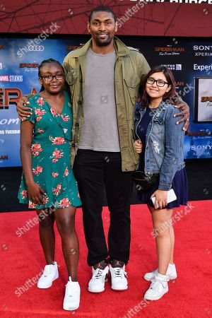 Ron Artest and family