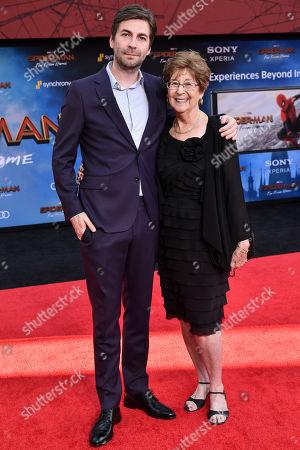 Jon Watts and mother