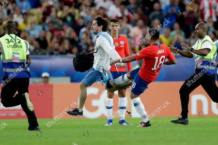 Editorial photo of Soccer Copa America Chile Uruguay, Rio de Janeiro, Brazil - 24 Jun 2019