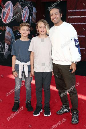Pete Wentz and family