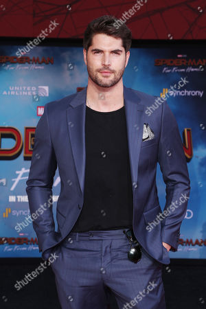 Editorial picture of 'Spider-Man: Far From Home' film premiere, Arrivals, TCL Chinese Theatre, Los Angeles, USA - 26 Jun 2019