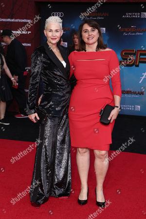 Imelda Corcoran and Victoria Alonso