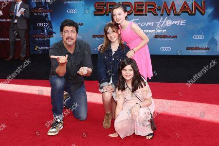 Stock Photo of Ken Marino and family
