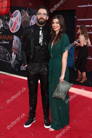 Martin Starr and Kristin Batalucco