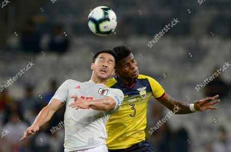 Editorial picture of Soccer Copa America Ecuador Japan, Belo Horizonte, Brazil - 24 Jun 2019
