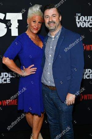 Anne Burrell and guest