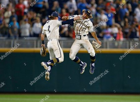 Editorial picture of CWS Finals Baseball, Omaha, USA - 24 Jun 2019
