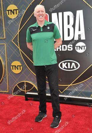 Bill Walton arrives at the NBA Awards, at the Barker Hangar in Santa Monica, Calif