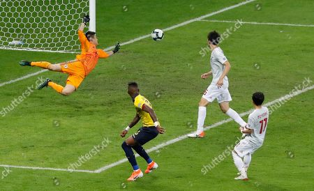 Editorial image of Soccer Copa America Ecuador Japan, Belo Horizonte, Brazil - 24 Jun 2019