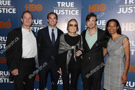 George Kunhardt (Co-Director, Prod), Peter Kunhardt (Co-Director, Exec. Prod), Gloria Steinem, Teddy Kunhardt (Co-Director, Prod) and Jacqueline Glover