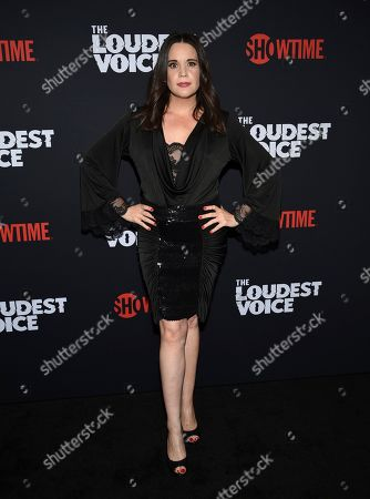"""Jenna Leigh Green attends the premiere of the ShowTime limited series """"The Loudest Voice"""" at the Paris Theatre, in New York"""