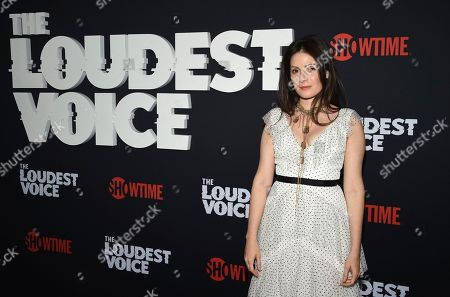 "Aleksa Palladino attends the premiere of the ShowTime limited series ""The Loudest Voice"" at the Paris Theatre, in New York"