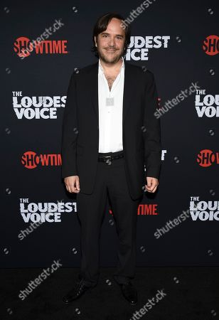 """Marcelo Zarvos attends the premiere of the ShowTime limited series """"The Loudest Voice"""" at the Paris Theatre, in New York"""