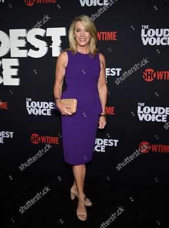 """Deborah Norville attends the premiere of the ShowTime limited series """"The Loudest Voice"""" at the Paris Theatre, in New York"""