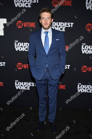 """Stock Image of Fran Kranz attends the premiere of the ShowTime limited series """"The Loudest Voice"""" at the Paris Theatre, in New York"""