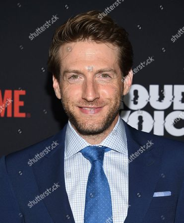 """Stock Photo of Fran Kranz attends the premiere of the ShowTime limited series """"The Loudest Voice"""" at the Paris Theatre, in New York"""