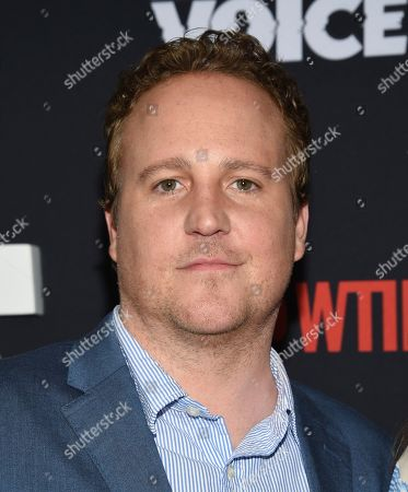 "Patch Darragh attends the premiere of the ShowTime limited series ""The Loudest Voice"" at the Paris Theatre, in New York"