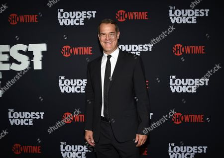 """Josh Stamberg attends the premiere of the ShowTime limited series """"The Loudest Voice"""" at the Paris Theatre, in New York"""