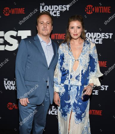 "Stock Image of Patch Darragh attends the premiere of the ShowTime limited series ""The Loudest Voice"" at the Paris Theatre, in New York"