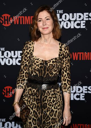 "Dana Delany attends the premiere of the ShowTime limited series ""The Loudest Voice"" at the Paris Theatre, in New York"