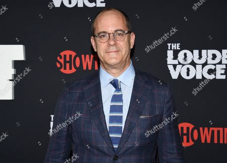 """David Nevins, CEO of Showtime Networks and chief creative officer of CBS, attends the premiere of the ShowTime limited series """"The Loudest Voice"""" at the Paris Theatre, in New York"""