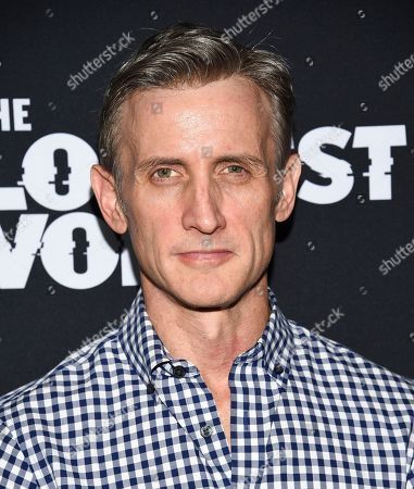 "Dan Abrams attends the premiere of the ShowTime limited series ""The Loudest Voice"" at the Paris Theatre, in New York"