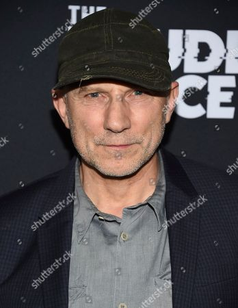 "Stock Image of Simon McBurney attends the premiere of the ShowTime limited series ""The Loudest Voice,"" at the Paris Theatre, in New York"