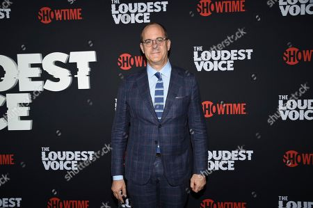 """David Nevins, CEO of Showtime Networks and chief creative officer of CBS, attends the premiere of the ShowTime limited series """"The Loudest Voice,"""" at the Paris Theatre, in New York"""