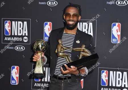 Editorial image of 2019 NBA Awards - Press Room, Santa Monica, USA - 24 Jun 2019
