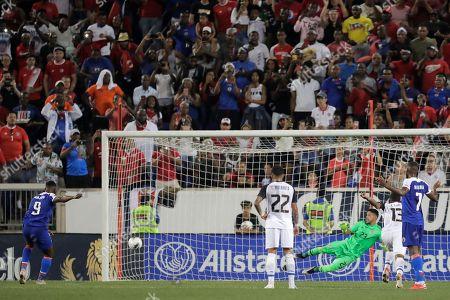 Editorial picture of Gold Cup Haiti Costa Rica Soccer, Harrison, USA - 24 Jun 2019