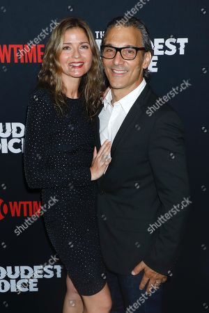 Stock Image of Jill Hennessy and Paolo Mastropietro
