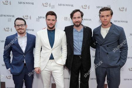 Ari Aster, Director/Writer, Jack Reynor, Vilhelm Blomgren, Will Poulter