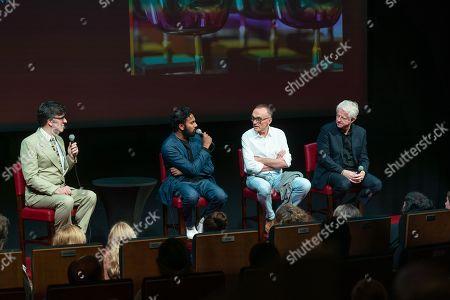 Jason Simos, Himesh Patel, Danny Boyle and Richard Curtis