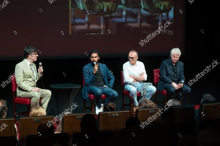 Jason Simos, Himesh Patel, Danny Boyle and Richard Curtis