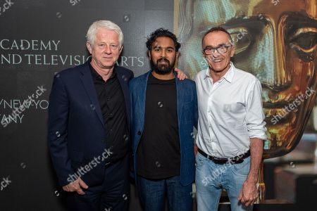 Richard Curtis, Himesh Patel and Danny Boyle
