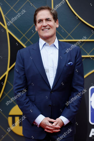 US businessman Mark Cuban poses for the photographers upon his arrival for the 2019 NBA Awards at Barker Hangar in Santa Monica, California, USA, 24 June 2019 (issued 25 June 2019). The 2019 NBA Awards will be the 3rd annual awards show by the National Basketball Association (NBA).