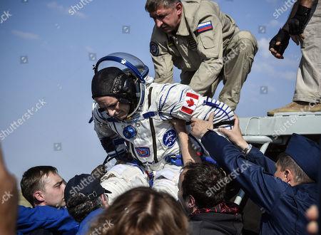 Editorial picture of Soyuz MS-11 landing, Dzhezkazgan, Kazakhstan - 25 Jun 2019