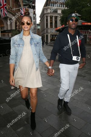 Editorial picture of Alesha Dixon out and about, London, UK - 25 Jun 2019